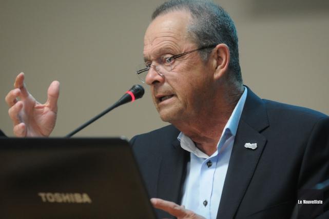 Le maire de Nicolet, Alain Drouin.... (Photo: François Gervais Le Nouvelliste)