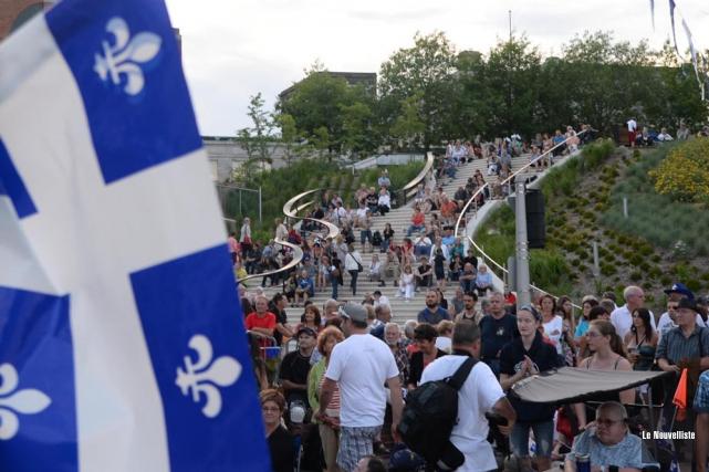 La subvention gouvernementale accordée pour organiser la fête... (Photo: Sylvain Mayer, Le Nouvelliste)