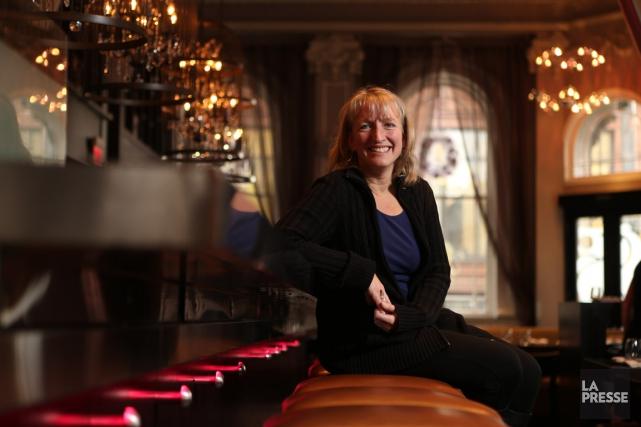 Véronique Rivest, de Gatineau, a été la première... (PHOTO MARTIN CHAMBERLAND, LA PRESSE)