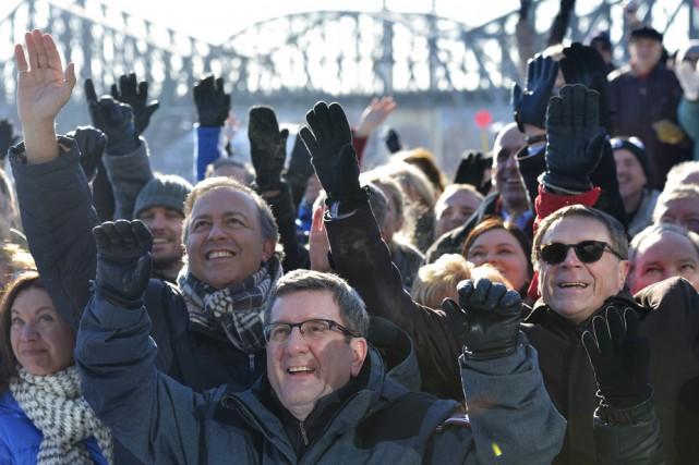 Les élus de la région de Québec se...