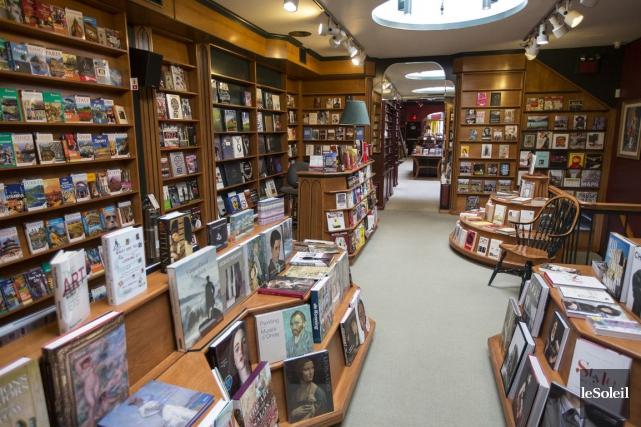 Les librairies à succursales et les librairies en... (Photothèque Le Soleil)