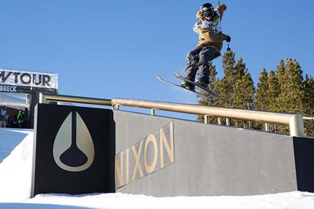 La neige a chamboulé les plans d'Alex Bellemare,... (Photo: Dew Tour)