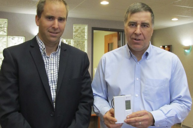 Louis Beaulieu, directeur des ventes, et Martin Beaulieu,... (Photo collaboration spéciale Yves Therrien)