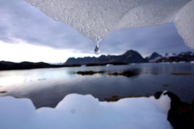 «Quand les glaciers sont moins épais, ils perdent... (PHOTO JOHN MCCONNICO, ARCHIVES ASSOCIATED PRESS)