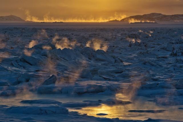 La superficie des glaces dans l'Arctique a été... (Photo Sean Kilpatrick, Archives PC)