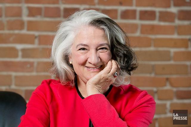 À l'instar de plusieurs écrivains québécois réputés, Marie... (Photo: Hugo-Sébastien Aubert, archives La Presse)