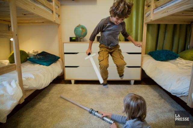 Faut-il laisser les enfants se chamailler? Sur la... (Photo Édouard Plante-Fréchette, La Presse)