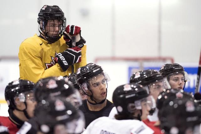 Depuis le début du camp de l'équipe canadienne,... (PHOTO DARREN CALABRESE, PC)