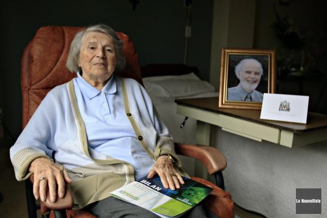 Madeleine Roy est décédée samedi. L'ancienne professeure et... (Archives Le Nouvelliste)