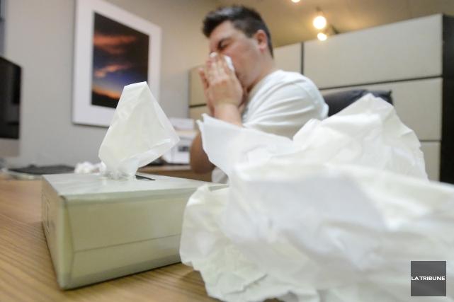 La grippe commence déjà à faire ses premiers malades. En effet, 48personnes... (Archives La Tribune, Maxime Picard)