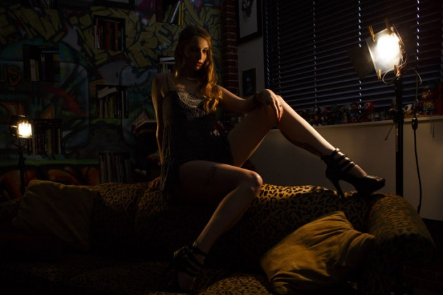 L'actrice porno Ela Darling a affirmé l'année dernière... (Photo: Bloomberg)