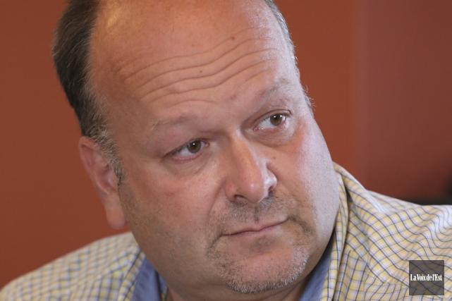 François Giasson, directeur général de la Ville.... (photo archives La Voix de l'Est)