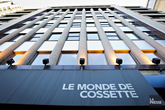 Les bureaux montréalais deCossettesont situés rue Drummond, dans... (Photo Olivier Jean, Archives La Presse)