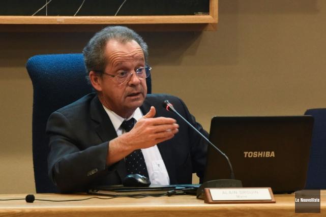 Le maire de Nicolet, Alain Drouin, reste amer... (Photo: François Gervais, Le Nouvelliste)