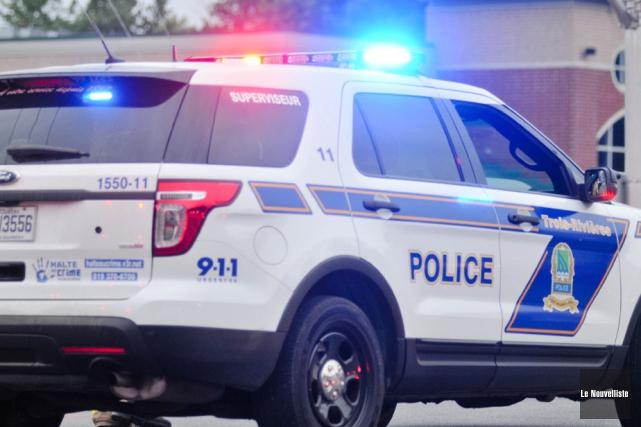 En juillet dernier, les policiers de Trois-Rivières ont porté une attention... (Photo: Émilie O'Connor, Le Nouvelliste)