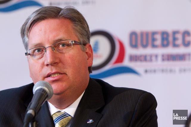 Sylvain Lalonde, directeur général de Hockey Québec, est... (Photo Robert Skinner, archives La Presse)