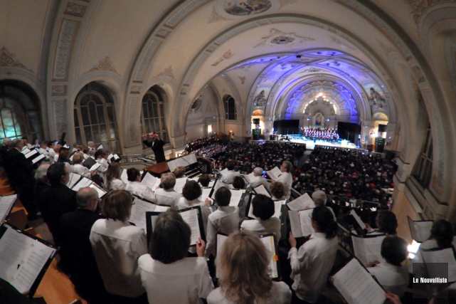 Le Grand Noël Choral version 2014 se tiendra... (Photo: François Gervais, Le Nouvelliste)