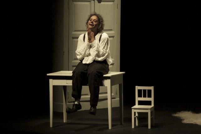 Daniele Finzi Pasca dans Icaro, qui sera présenté... (Photo: Viviana Cangialosi, fournie par Montréal en lumière)