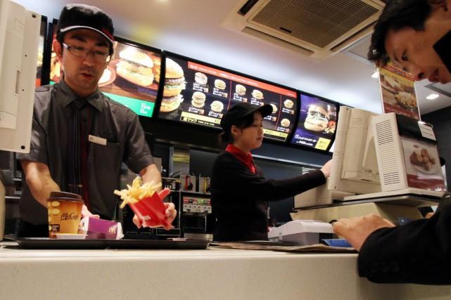 McDonald's au Japon a déjà souffert cette année... (Photo Yoshikazu TSUNO, AFP)