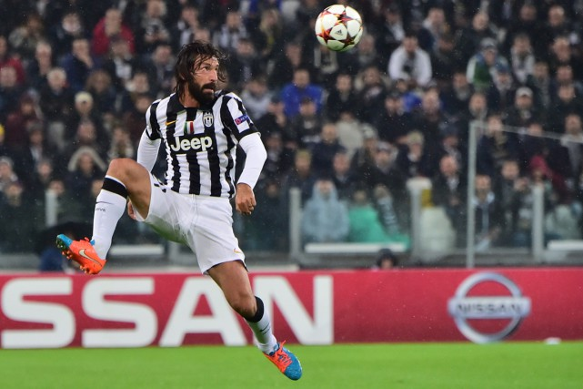 Andrea Pirlo... (Photo Giuseppe Cacace, AFP)