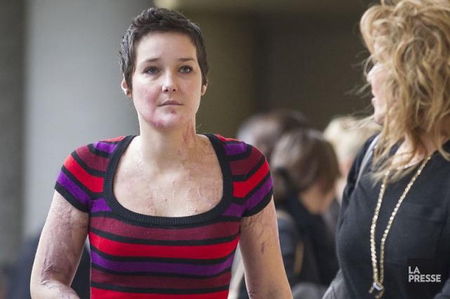 Tanya St Arnauld en compagnie de sa mère,... (Photothèque La Presse)