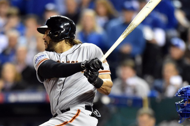 Michael Morse... (Photo Peter G. Aiken, USA Today Sports)