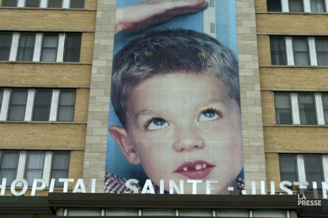 Le CHU Sainte-Justine reçoit en moyenne 250 patients... (PHOTO ARCHIVES LA PRESSE)