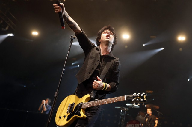 Billy Joe Armstrong de Green Day.... (Photo: archives AP)