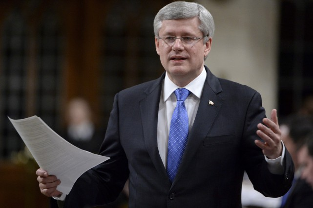 Le premier ministre Stephen Harper que la position... (PHOTO ADRIAN WYLD, ARCHIVES LA PRESSE CANADIENNE)