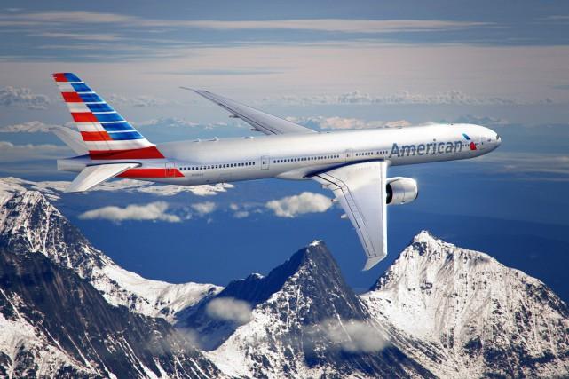 Un Boeing 777 semblable à celui impliqué dans... (Photo Reuters/American Airlines)