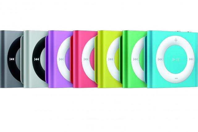 Le iPod Shuffle de Apple... (Photo fournie par Apple)