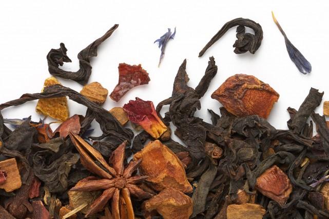 Le thé Esprit des Fêtes mélange pas moins... (Photo fournie par Camelia Sinensis)