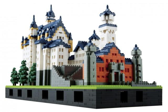 Nanoblock Château de Neushwanstein, édition de luxe, Kawada... (Photo fournie par le fabricant)