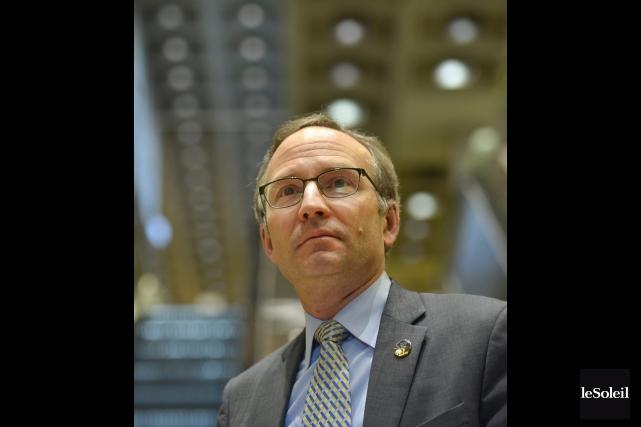 Le président du Conseil du Trésor, Martin Coiteux,... (Photo Yan Doublet, Le Soleil)