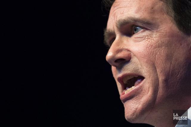 Le candidat à la direction du PQ, Pierre... (PHOTO GRAHAM HUGHES, LA PRESSE CANADIENNE)