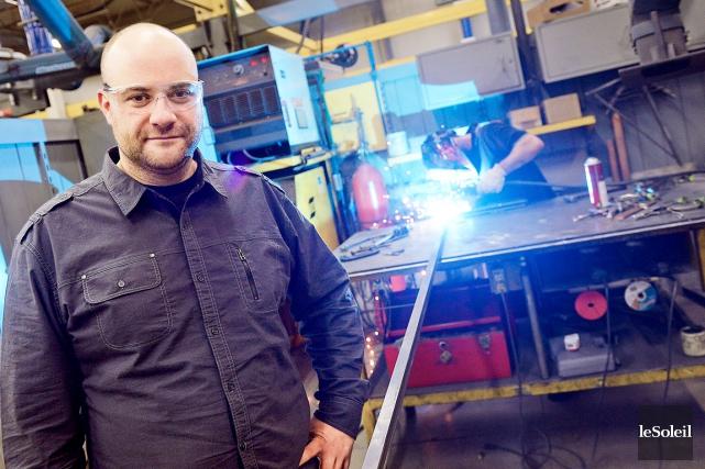 Francis Roy, le directeur des ventes et du... (Photo Le Soleil, Erick Labbé)