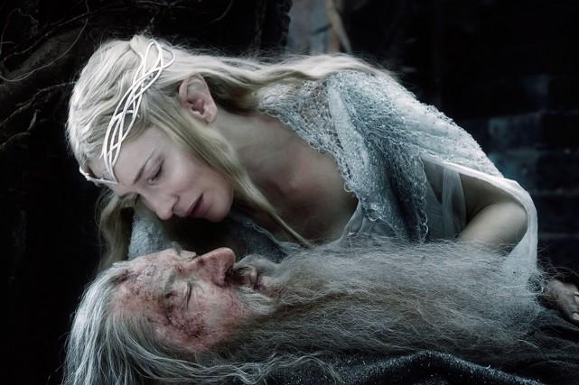 Cate Blanchett et Ian McKellen dansThe Hobbit: The... (PHOTO FOURNIE PAR WARNER)