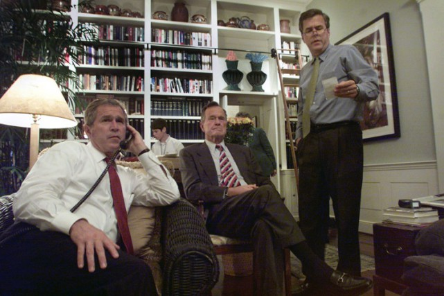 Des républicains ont déjà commencé à accuser Jeb... (Photo archives The New York Times)