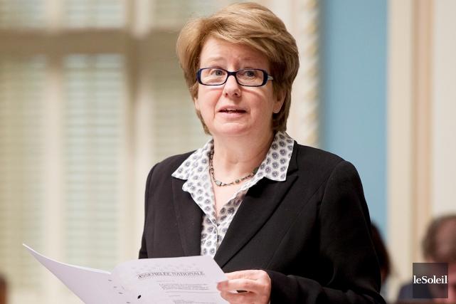 Agnès Maltais a réitéré le refus du Parti... (Photothèque Le Soleil)