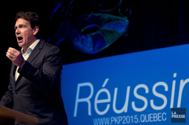 Pierre Karl Péladeau... (PHOTO OLIVIER JEAN, ARCHIVES LA PRESSE)