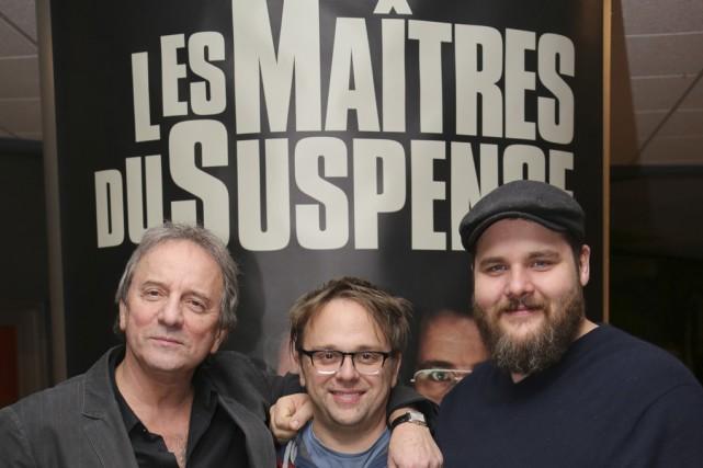 Michel Côté, Stéphane Lapointe et Antoine Bertrand ont... (photo Alain Dion)