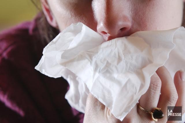 La saison de la grippe est précoce cette... (Photo archives La Presse)