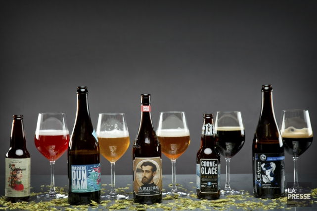 Chaque année, des centaines de nouvelles bières font leur apparition sur les... (PHOTO MARCO CAMPANOZZI, LA PRESSE)