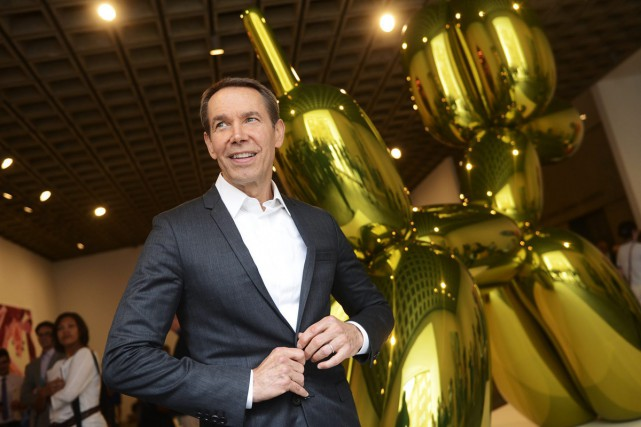 Jeff Koons... (PHOTO ARCHIVES ASSOCIATED PRESS)