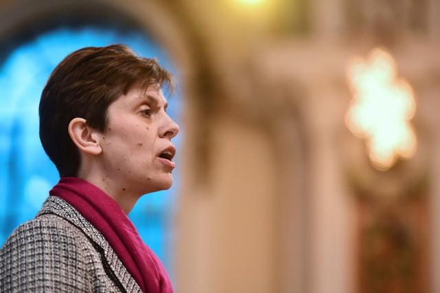 C'est la révérende Libby Lane - de son... (PHOTO PAUL ELLIS, AFP)