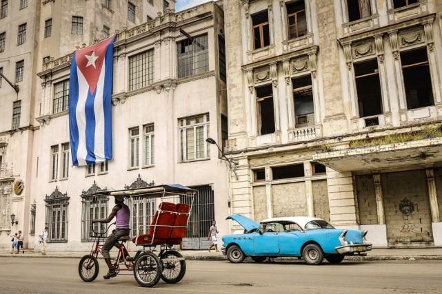 Québec solidaire partage l'espoir du peuple cubain qui... (Archives AFP)