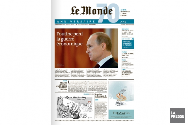 Le Monde... (PHOTO ARCHIVES LA PRESSE)