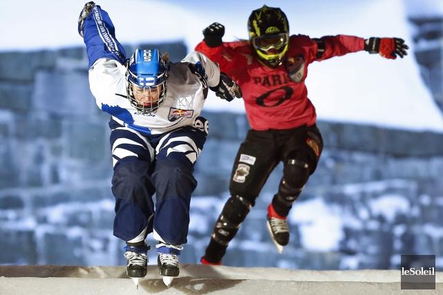Sherbrooke accueillera unévénement de ice cross downhill qui se tiendra au... (Archives Le Soleil)