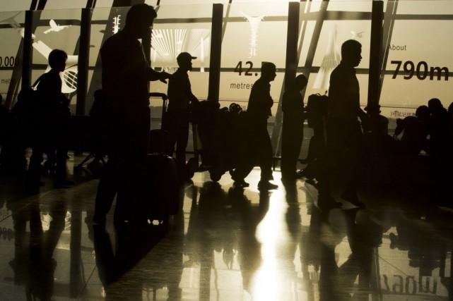 Le marché chinois des voyages aériens est le... (Photo Ng Han Guan, AP)