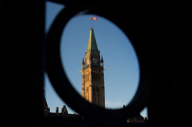 La Parlement du Canada à Ottawa... (PHOTO ARCHIVES LA PRESSE CANADIENNE)